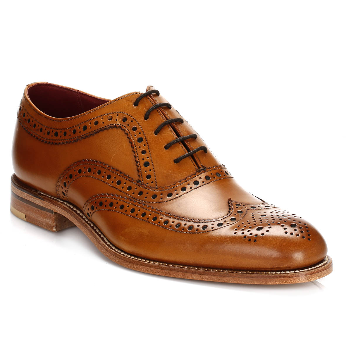 loake mens formal shoes leather smarts lace up dress