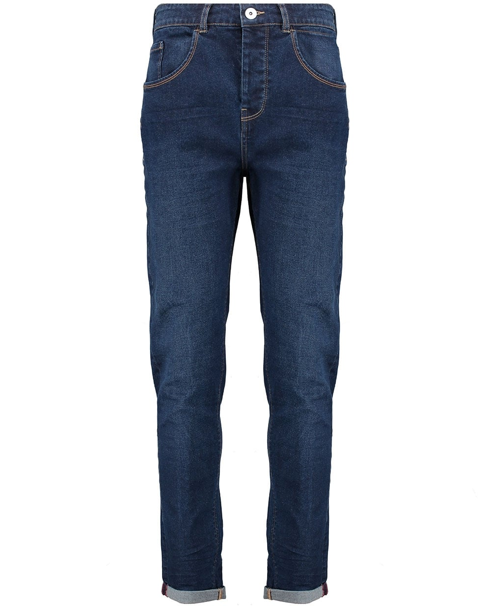 Karen Kane Pull-On Stretch Bootcut Jeans (Blue)