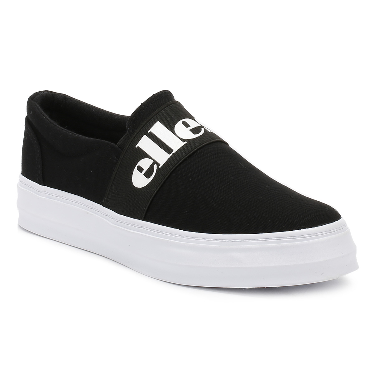Women's White Slip on Shoes