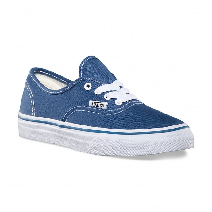 vans shoes for boys. vans kids navy blue authentic trainers, sport casual shoes, girls boys sneakers shoes for i