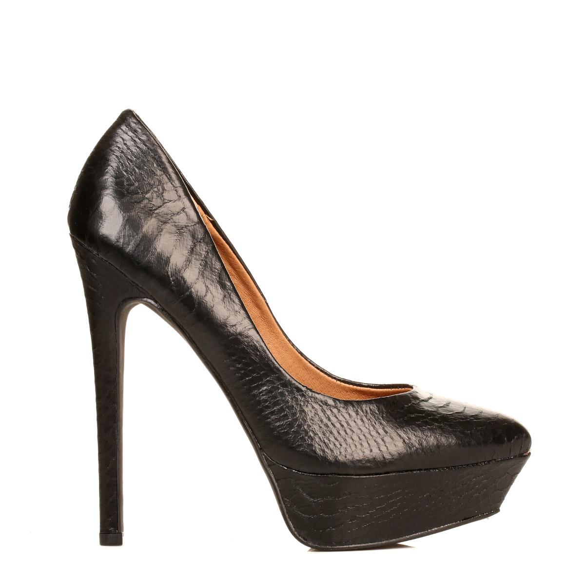 steve madden womens black artist high heels formal casual