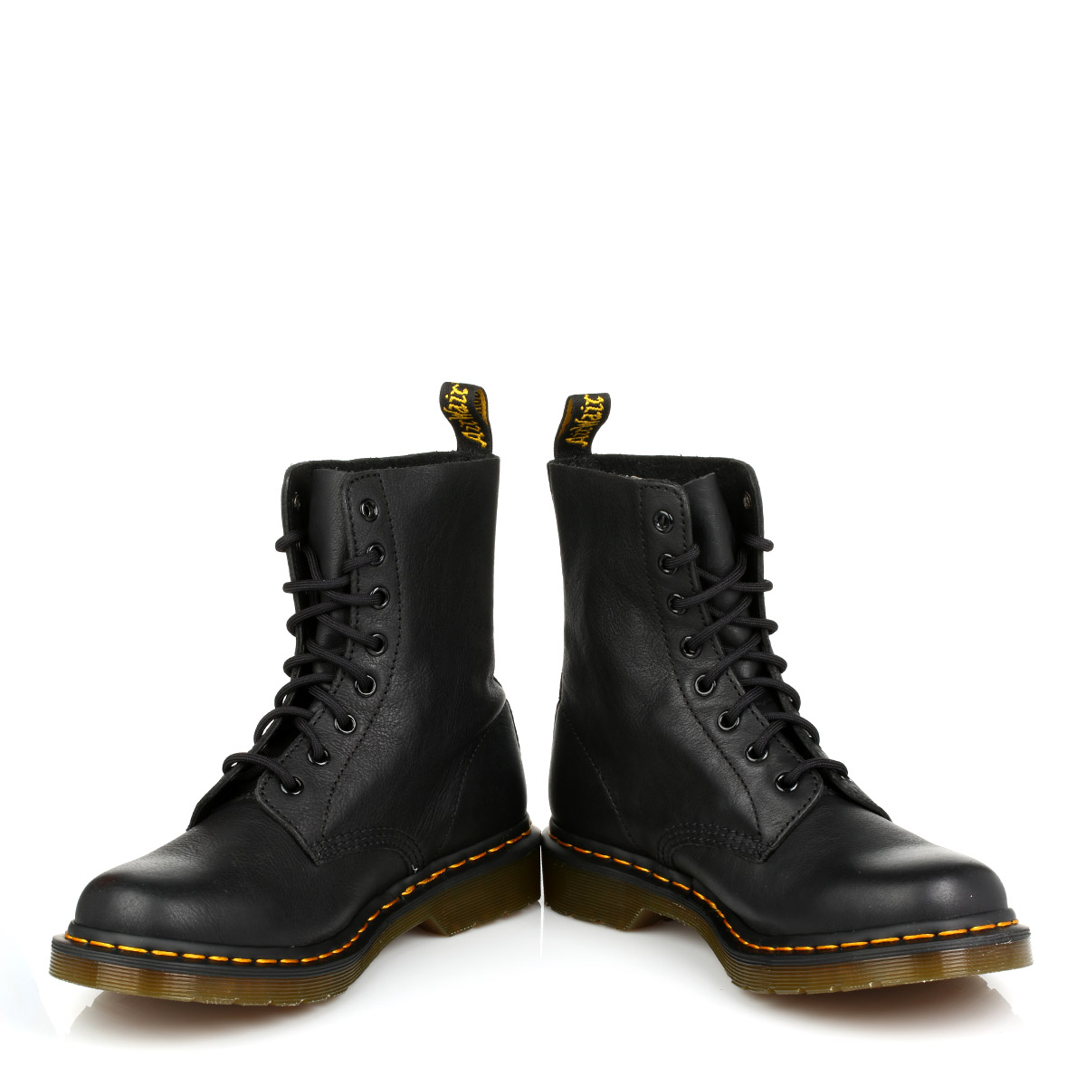 dr martens womens docs black pascal virginia leather