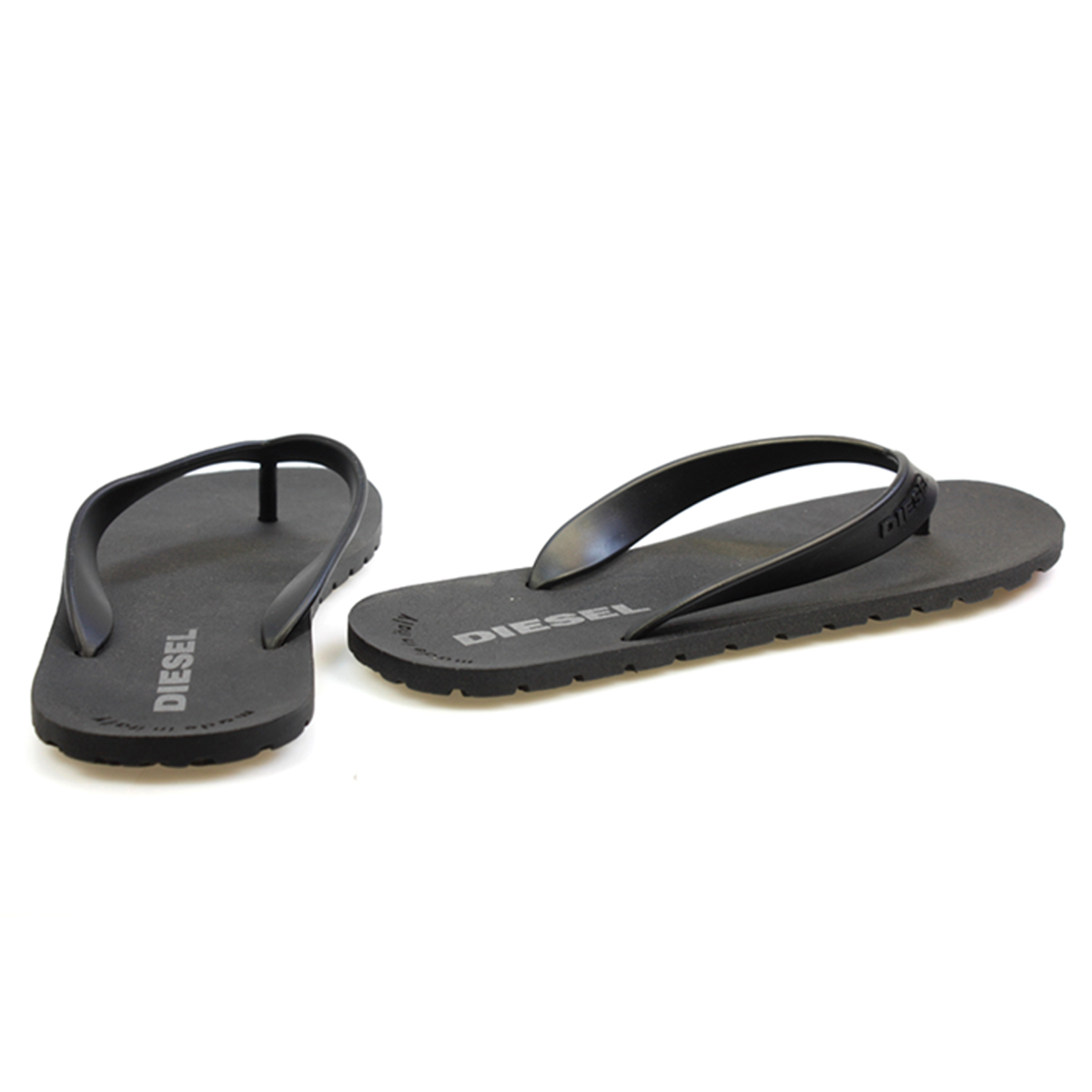 for sale very cheap Diesel Flip Flops in Black cheap visa payment discount exclusive real lx96nJ