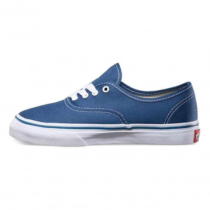 vans azules chica