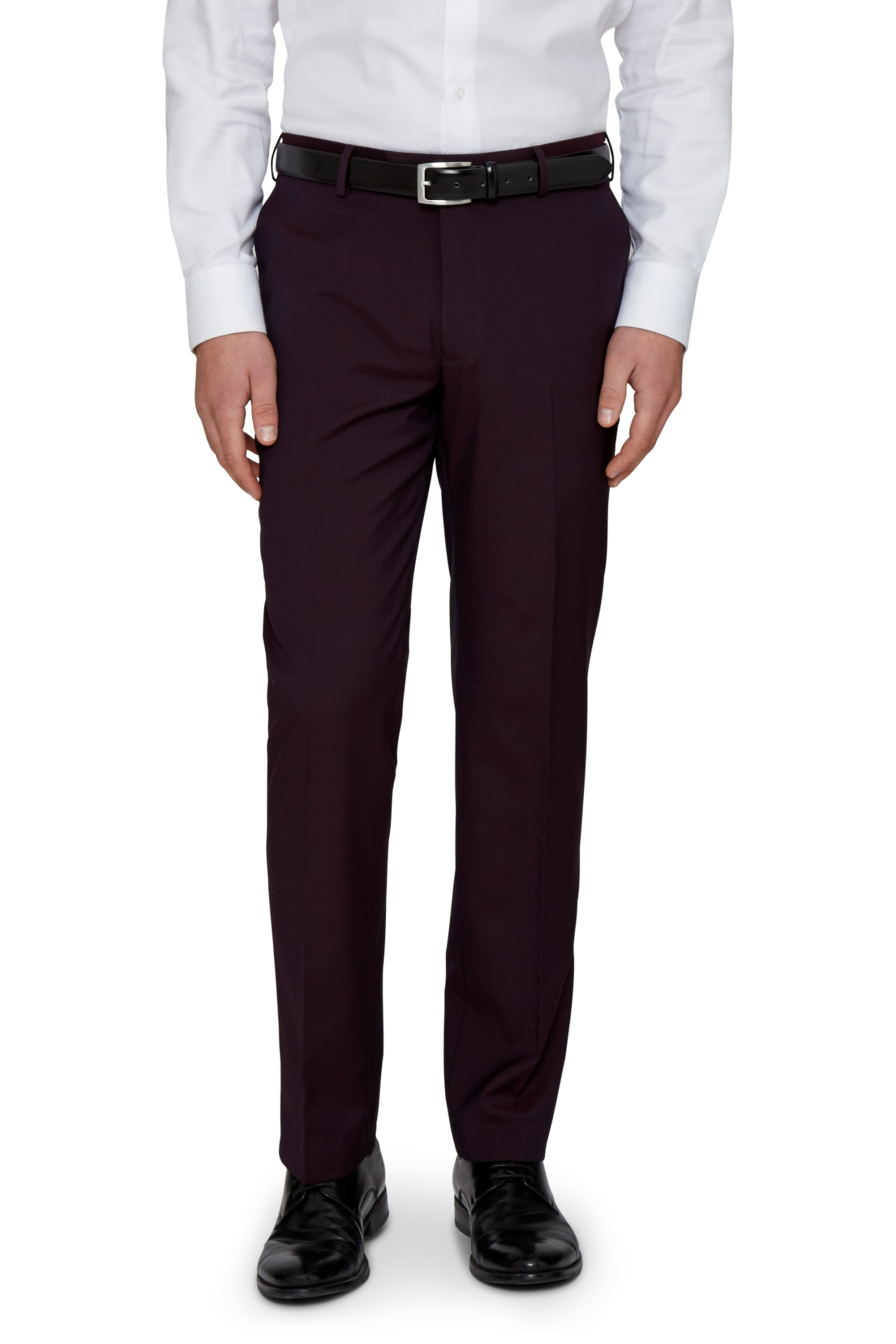 Moss 1851 Mens Burgundy Red Suit Trousers Tailored Fit Pleated Formal Pants | EBay