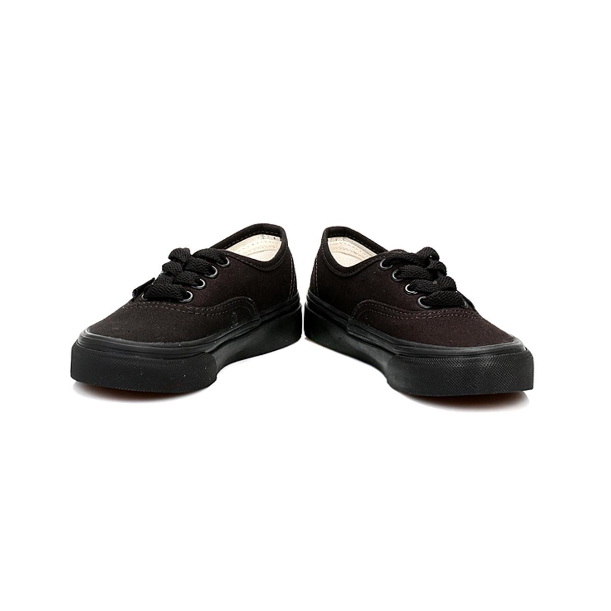 vans shoes black and white boys. vans-kids-girls-boys-trainers-black-authentic-canvas- vans shoes black and white boys e