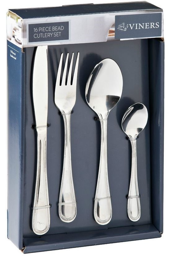 viners elite concepts cutlery set 16pcs dubarry bead. Black Bedroom Furniture Sets. Home Design Ideas