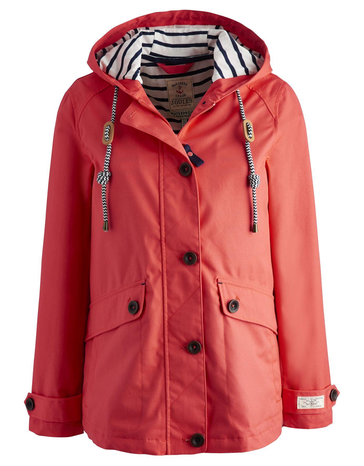 Joules Coast Ladies Waterproof Jacket (S) | eBay