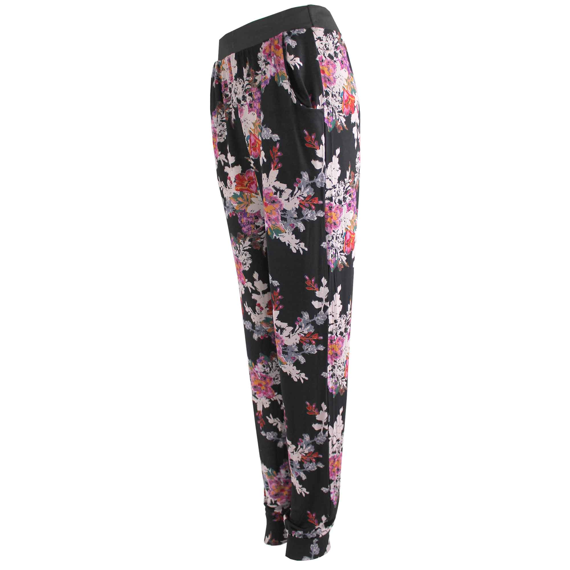 Unique  Floral Woven Joggers For Women  Women39s Multi Joggers Online In India