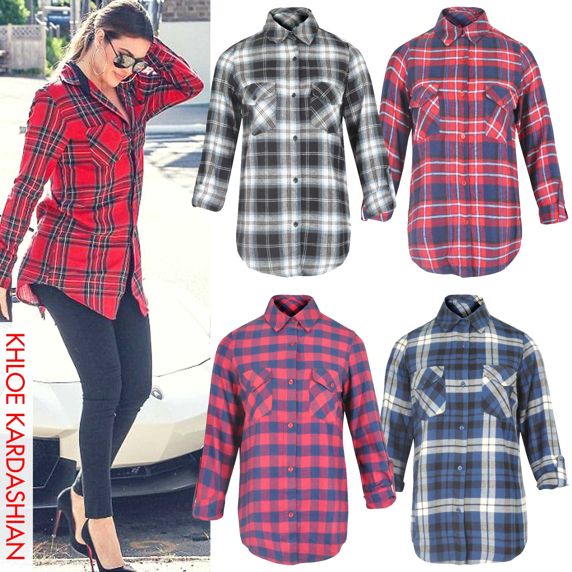 Womens Checked Shirt | Is Shirt