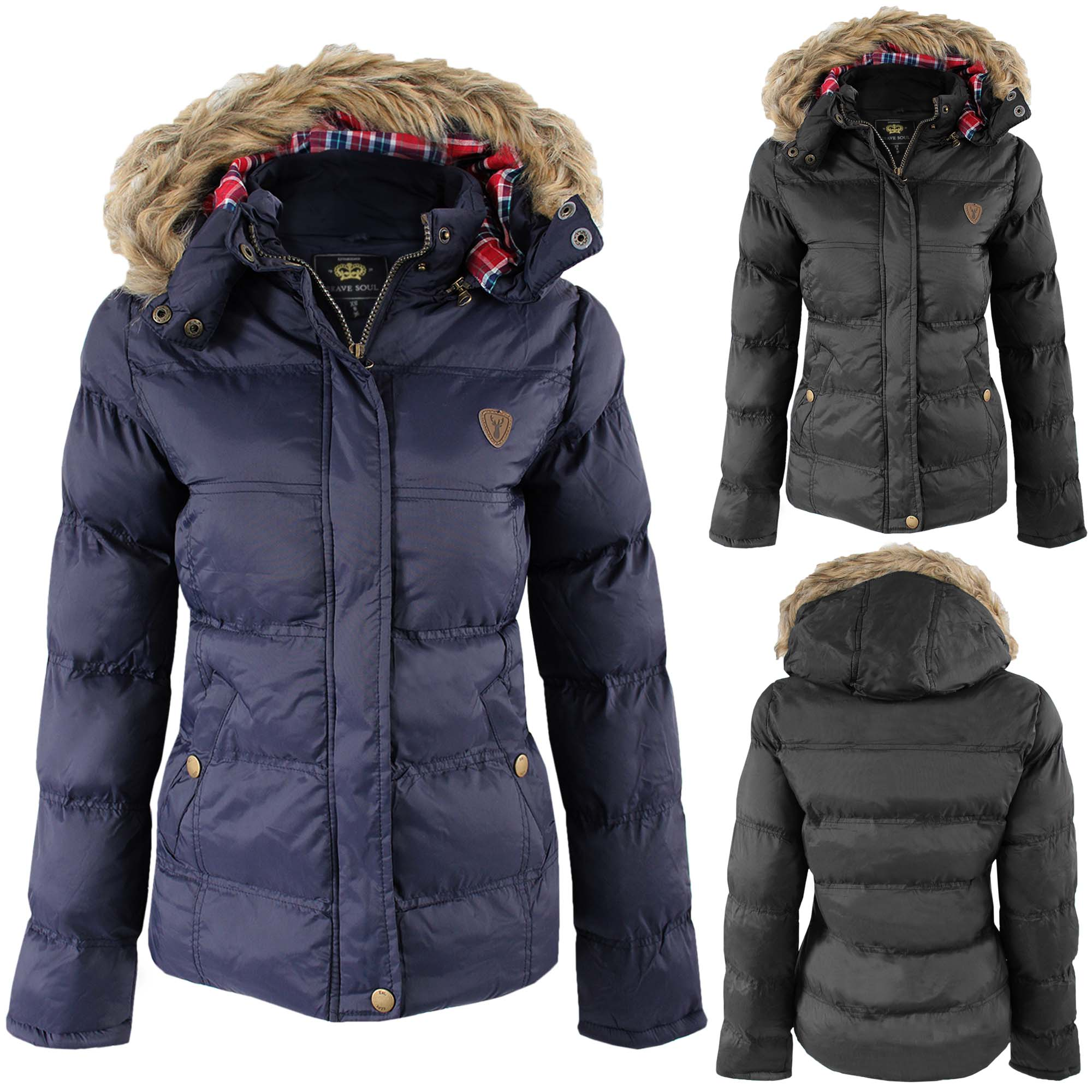 Womens Long Padded Winter Coats - Tradingbasis