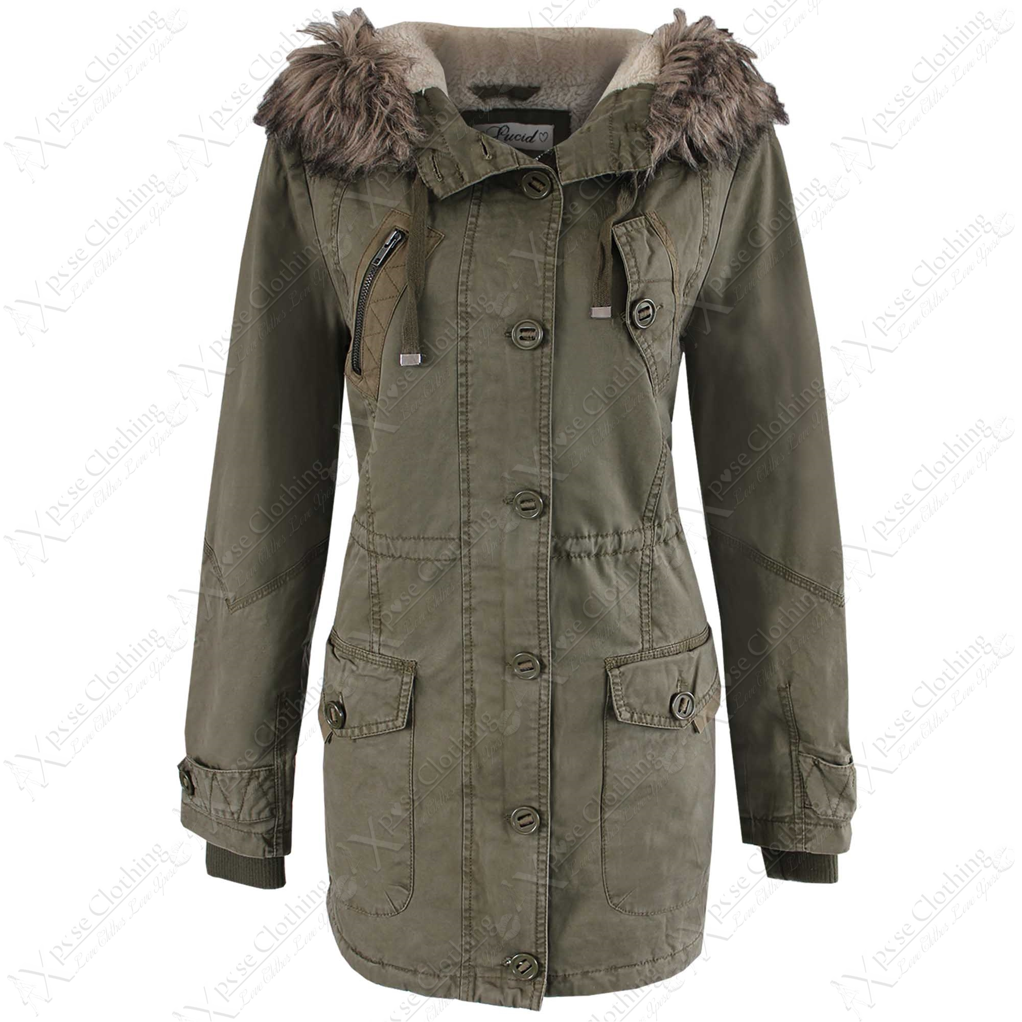 Womens Parka Coats Photo Album - Reikian