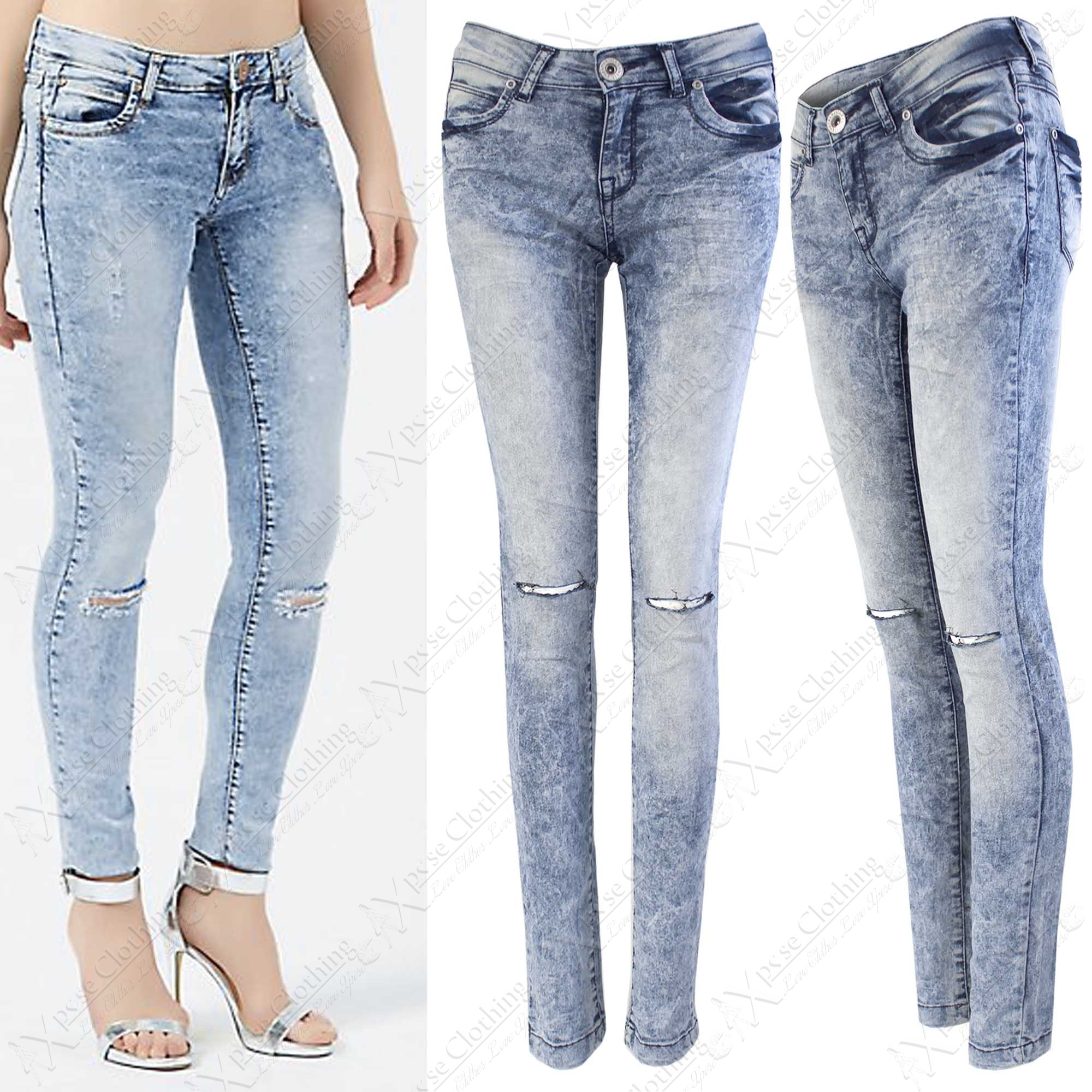 Skinny Stretch Jeans For Women - Jon Jean