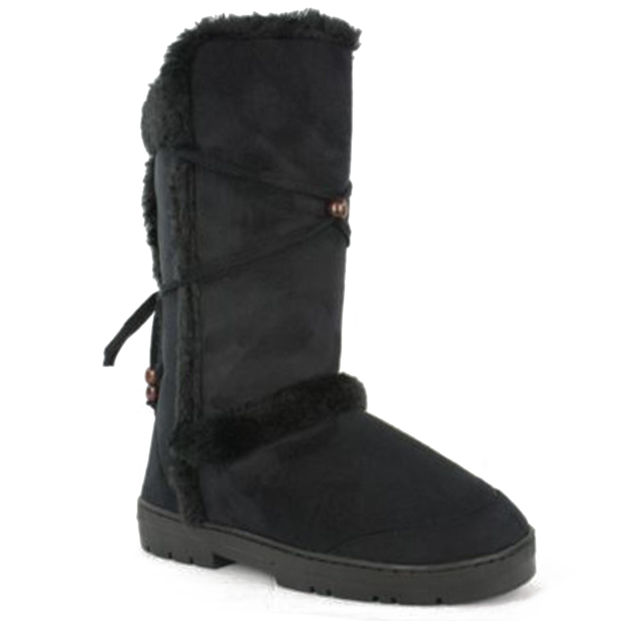 Women\'s Furry Winter Boots   High 5 Games