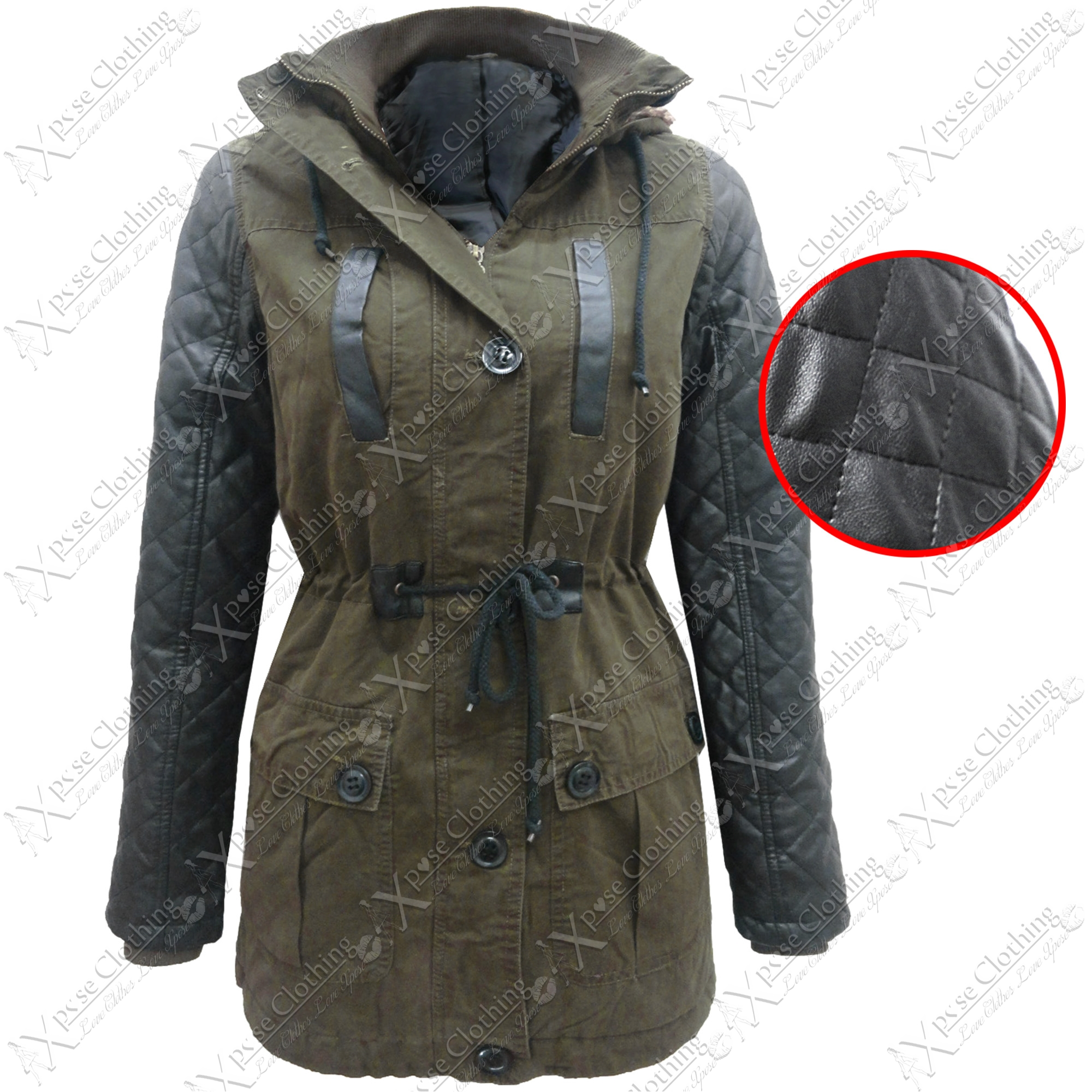 Buy ELESOL Women's Military Hooded Warm Winter Parkas Faux Fur Lined Jacket Coats and other Fur & Faux Fur at shopnow-vjpmehag.cf Our wide selection is elegible for free shipping and free returns/5(30).