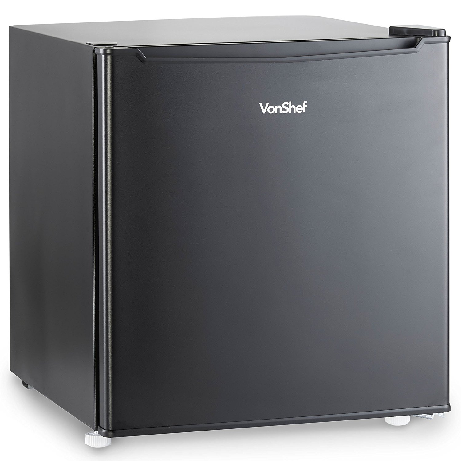 vonshef 47l compact mini fridge black counter table top. Black Bedroom Furniture Sets. Home Design Ideas