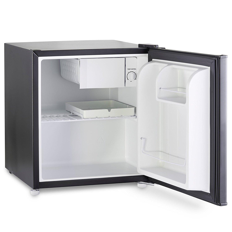 vonshef 47l compact mini fridge black counter table top. Black Bedroom Furniture Sets. Home Design Ideas
