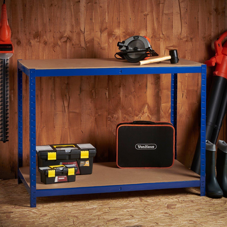 Металлическая мебель для гаража своими руками6