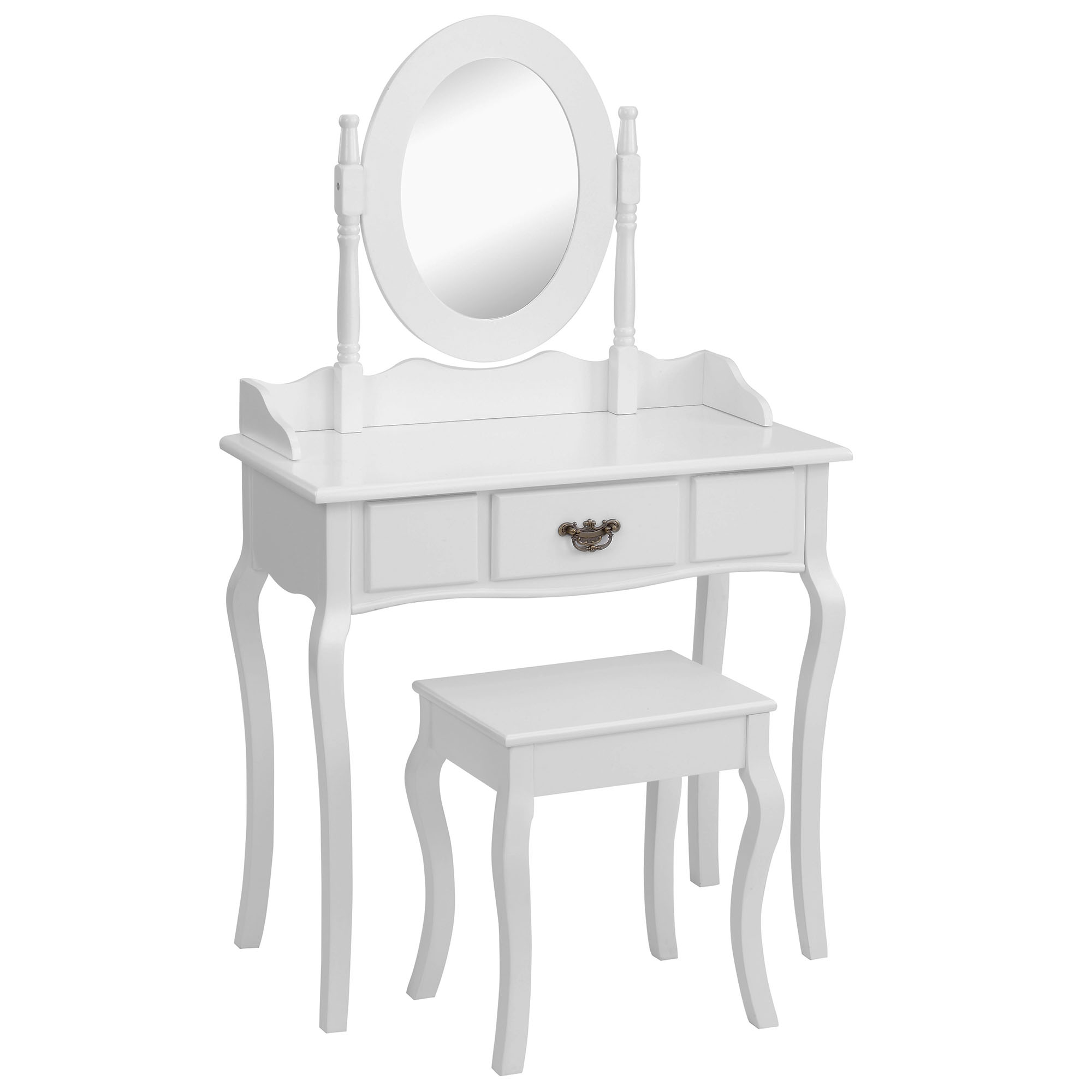 Beautify White Dressing Table Bedroom Makeup Vanity Desk