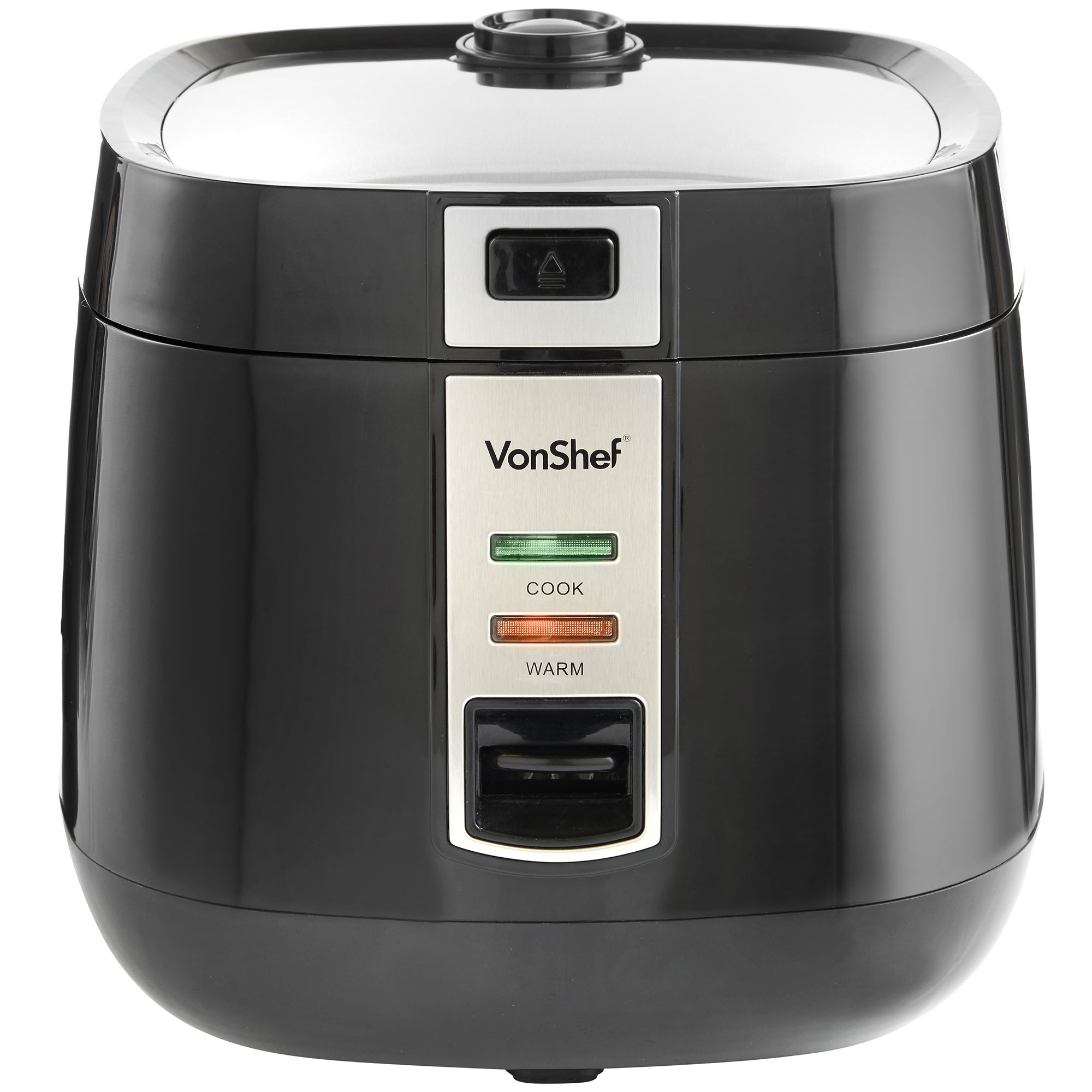 Automatic Rice Cooker ~ Vonshef l automatic electric non stick rice cooker pot