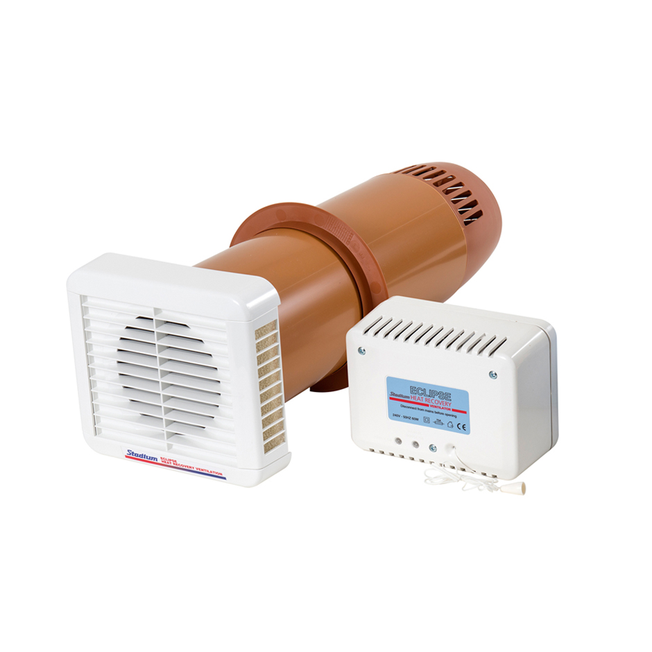 Eclipse heat recovery ventilation fan for condensation and for Bedroom 80 humidity