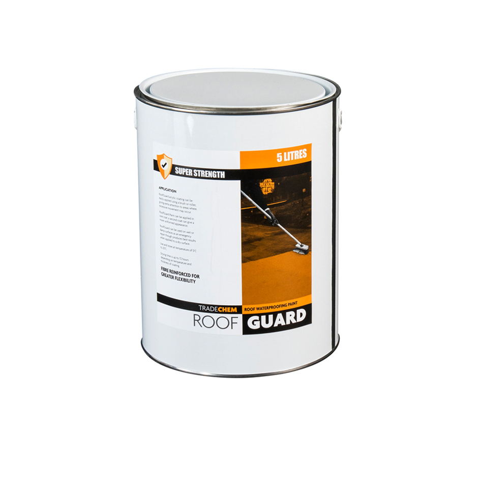 ROOFGUARD ACRYLIC WATERPROOFING WATERPROOF SUPER STRENGTH