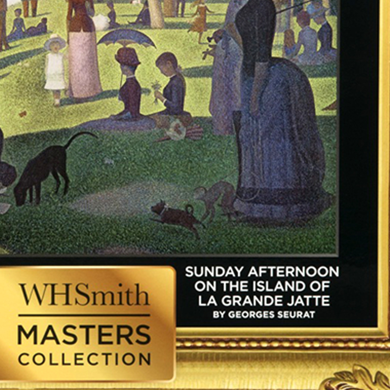 WHSmith Sunday Afternoon On The Island Of La Grande Jatte