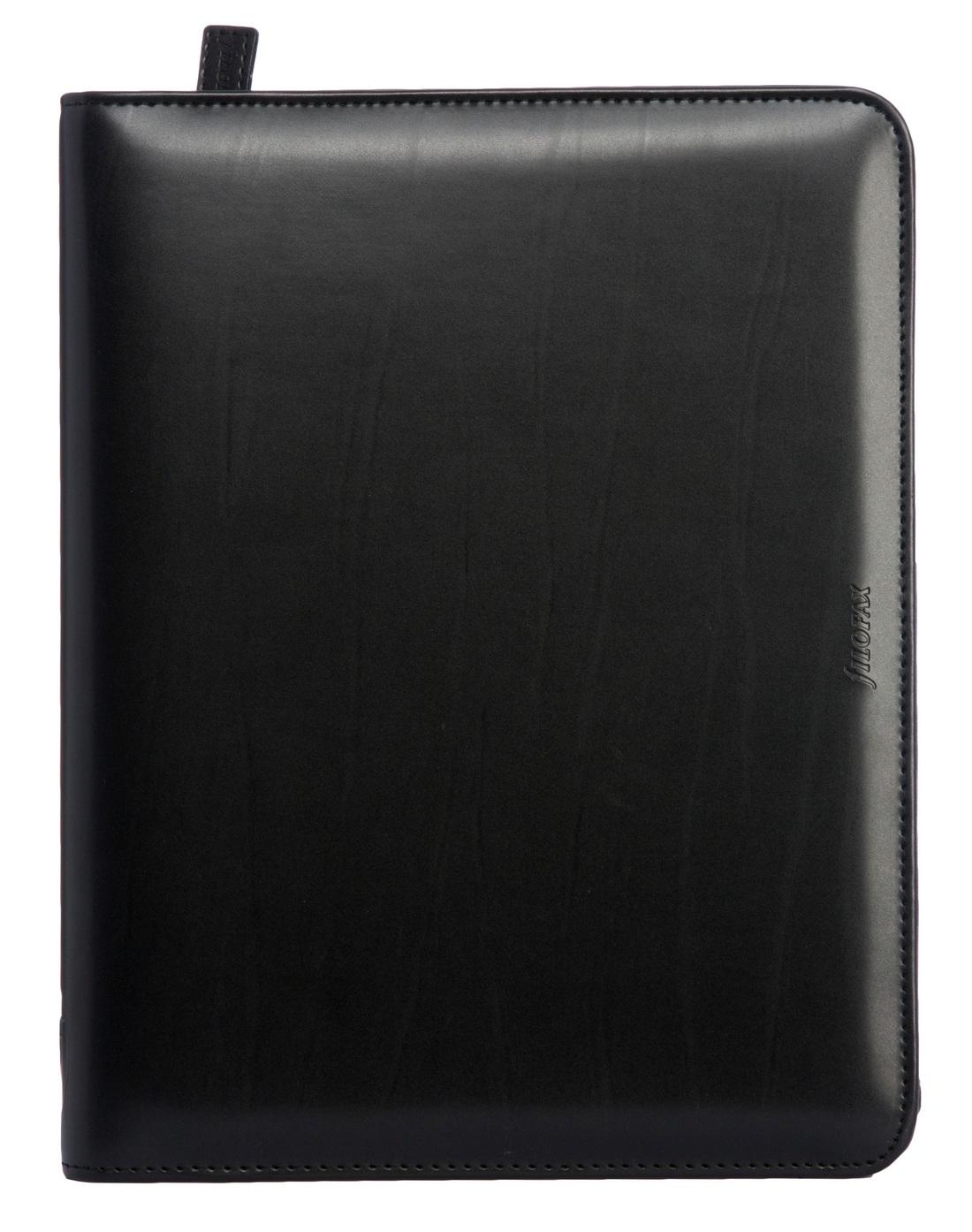 filofax metropol a5 organiser black zip ebay. Black Bedroom Furniture Sets. Home Design Ideas