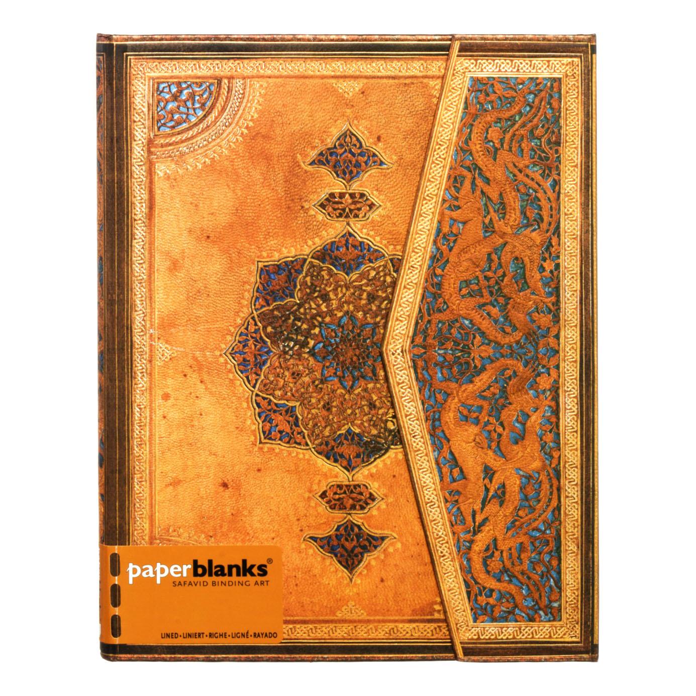 Paperblanks Safavid Binding Art Ultra Wrap Notebook 144