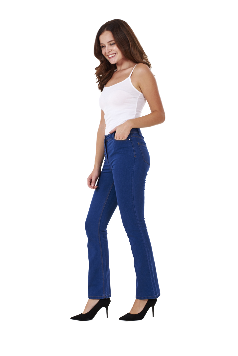 Find great deals on eBay for stretch denim bootcut leggings. Shop with confidence.