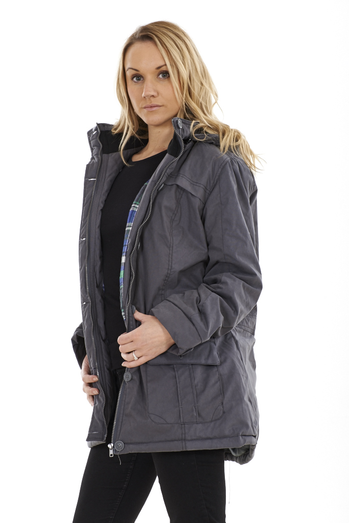 Grey Parka Coat Womens dNbVFu