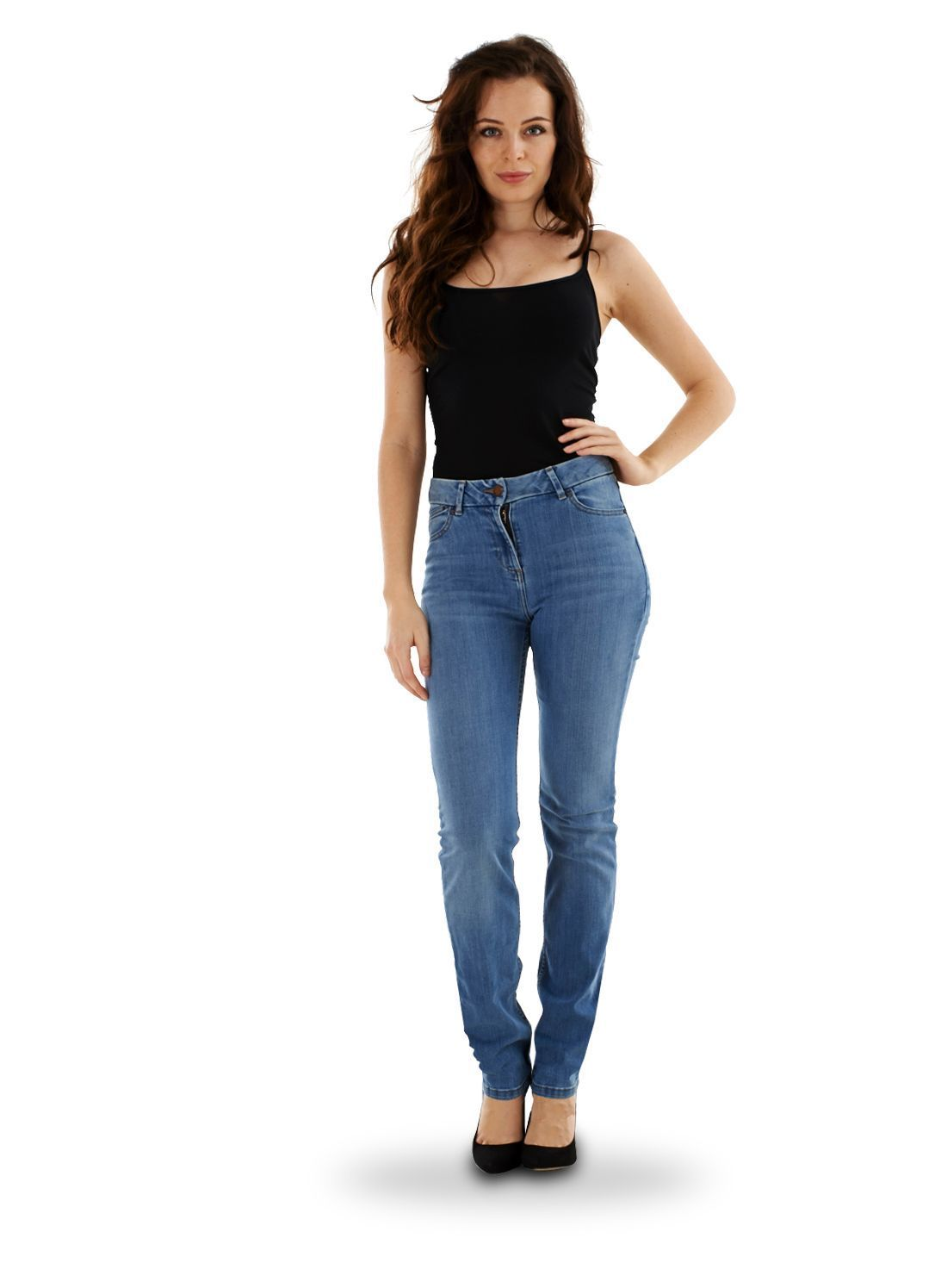 Comments about wrangler Women's Straight Leg Jean: I love the simple design. Can wear them to work or wherever. They fit great - no waist gap, are slimming through the thigh. The seams lay flat. The 30