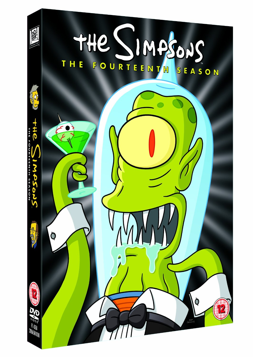 Simpsons season 14 dvd disc