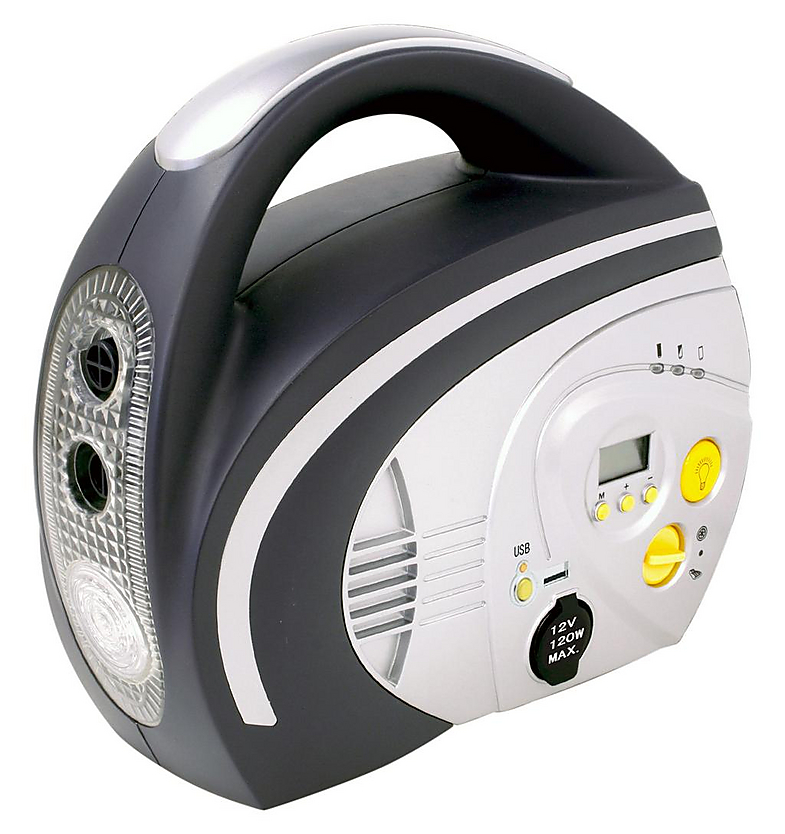 Halfords Rechargeable Multi Purpose Car Tyre Inflator Air ...
