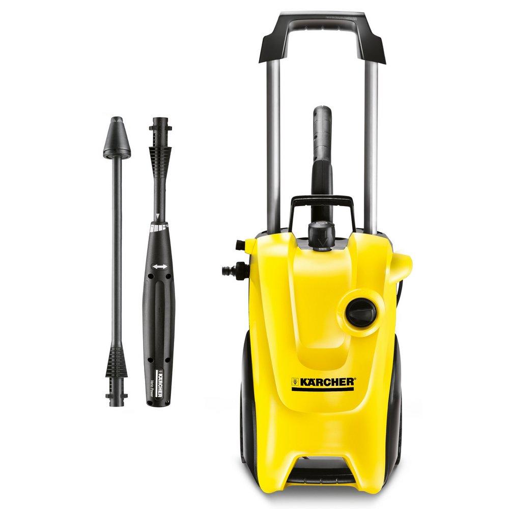 karcher k4 compact pressure washer power home garden car wash mobile cleaner ebay. Black Bedroom Furniture Sets. Home Design Ideas
