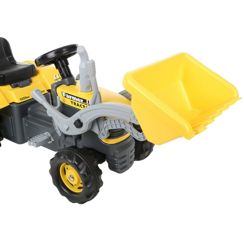 Tractor Pedal Car Parts : Dolu pedal ride on tractor kids children vehicle builder