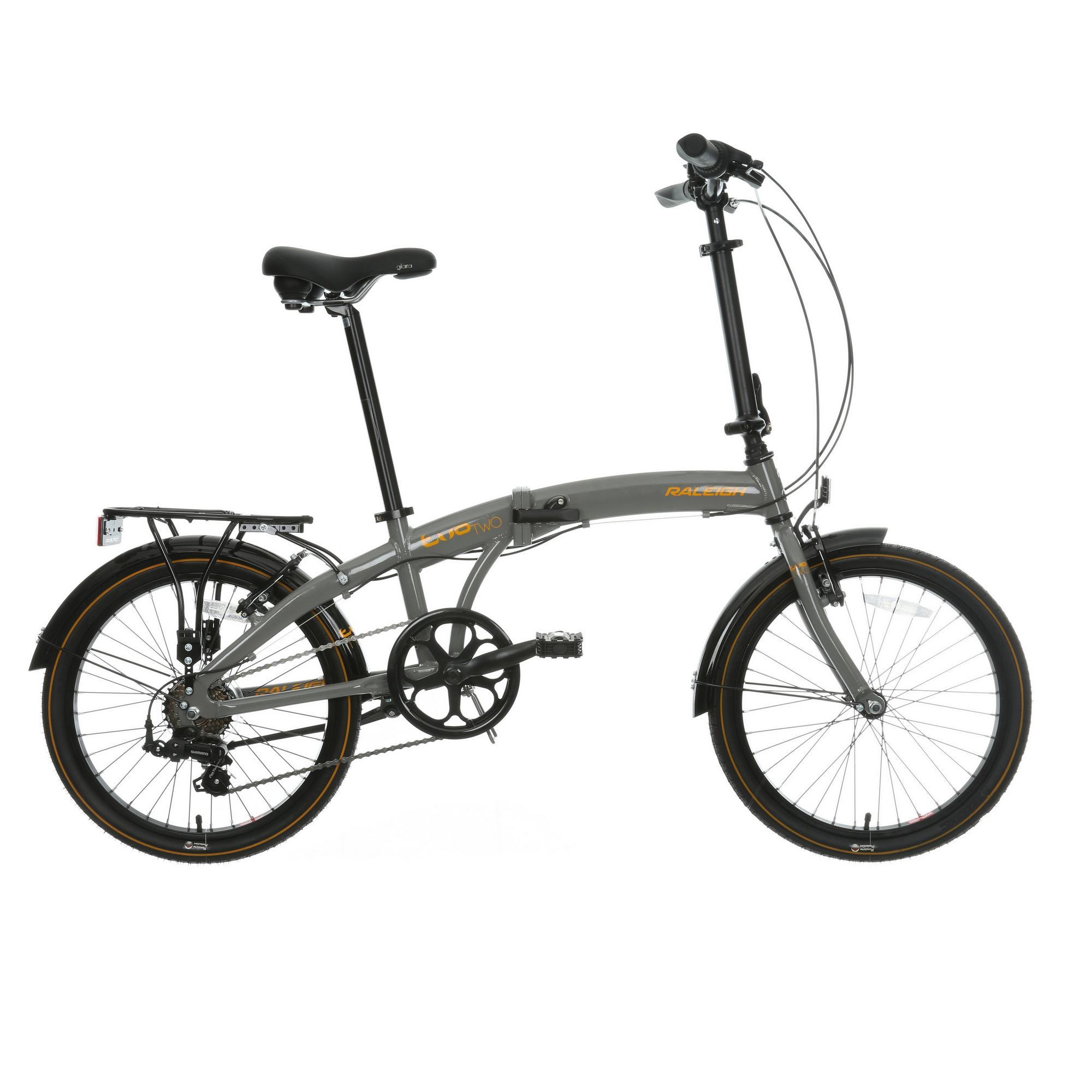 Raleigh Evo 2 Mens Womens Folding Bike Bicycle V Brake