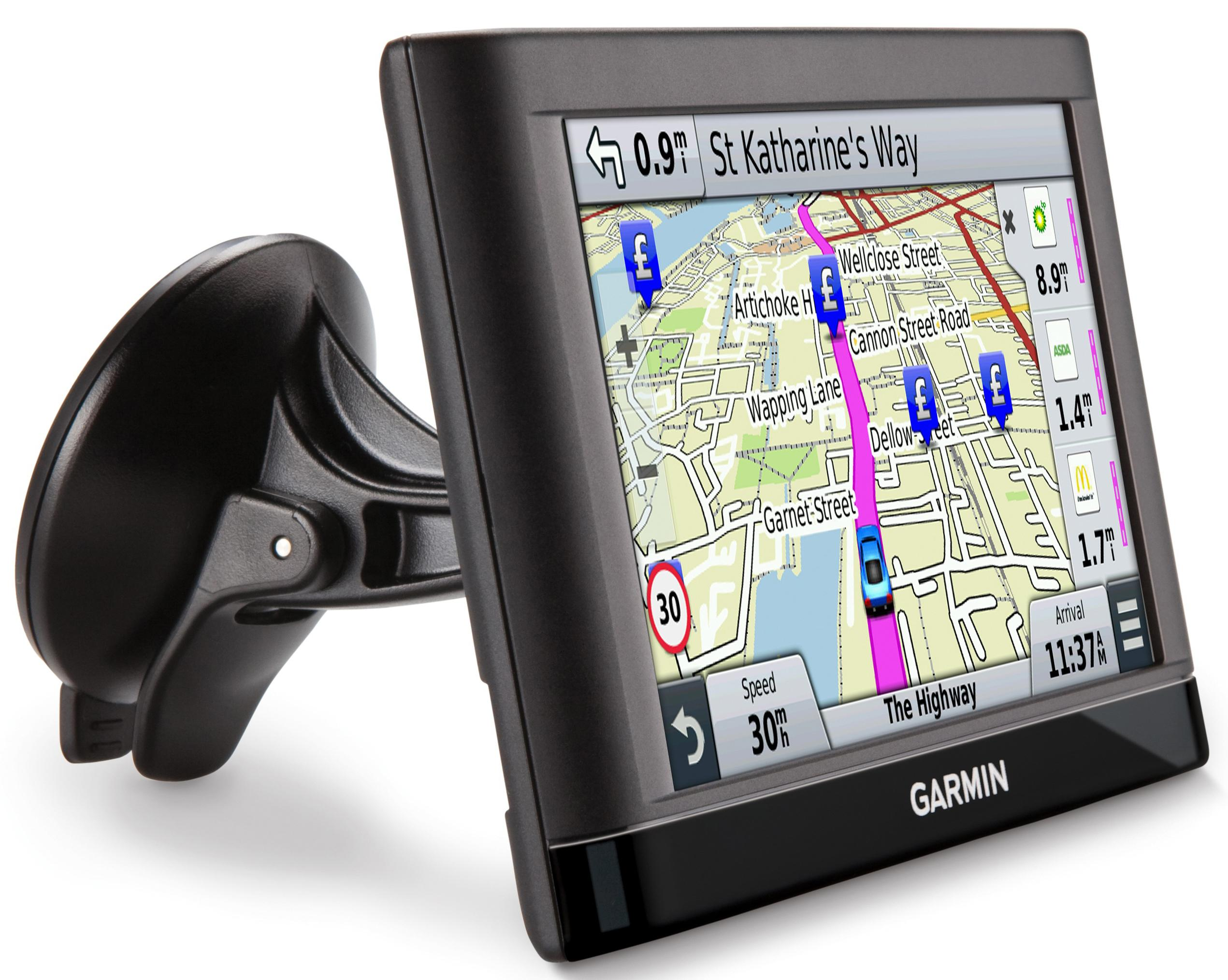 garmin nuvi 55lm 5 gps sat nav navigation system. Black Bedroom Furniture Sets. Home Design Ideas