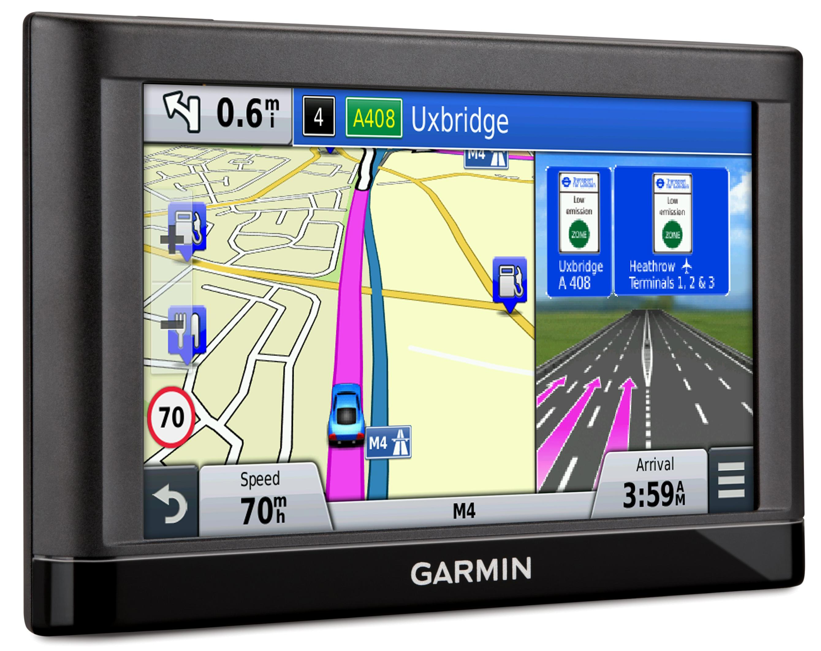 garmin nuvi 56 lm eu 5 sat nav navigation gps system uk. Black Bedroom Furniture Sets. Home Design Ideas