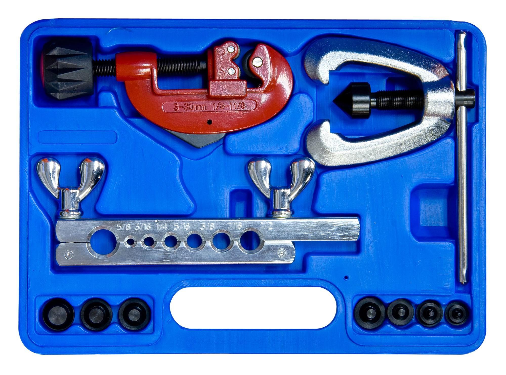 Laser Flaring Tool Kit 10 Piece Copper Brass Aluminium
