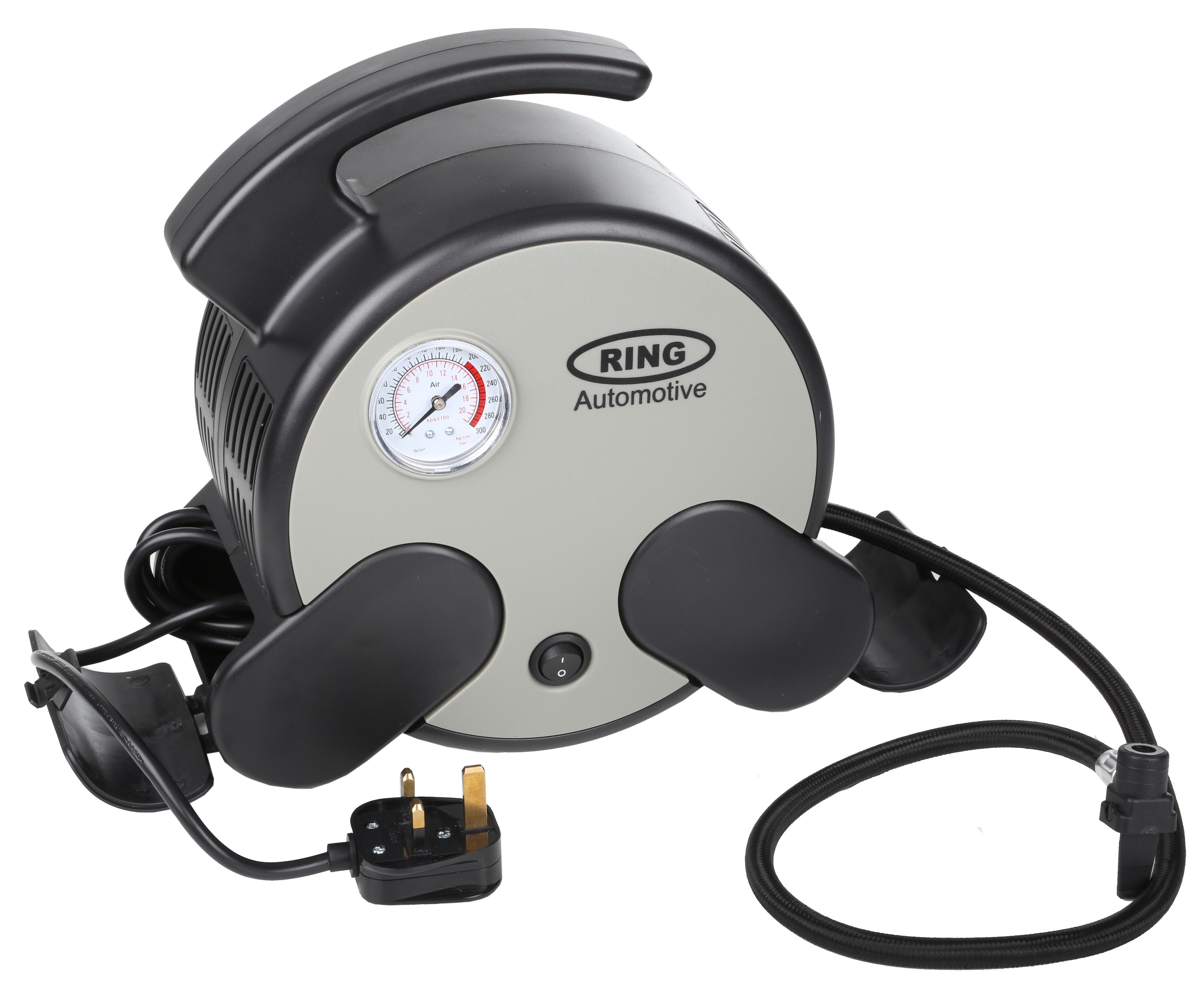 ring air compressor 230v mains powered rapid 250psi. Black Bedroom Furniture Sets. Home Design Ideas