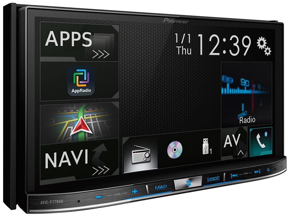 pioneer avic f77dab car stereo 7 touch screen apple. Black Bedroom Furniture Sets. Home Design Ideas