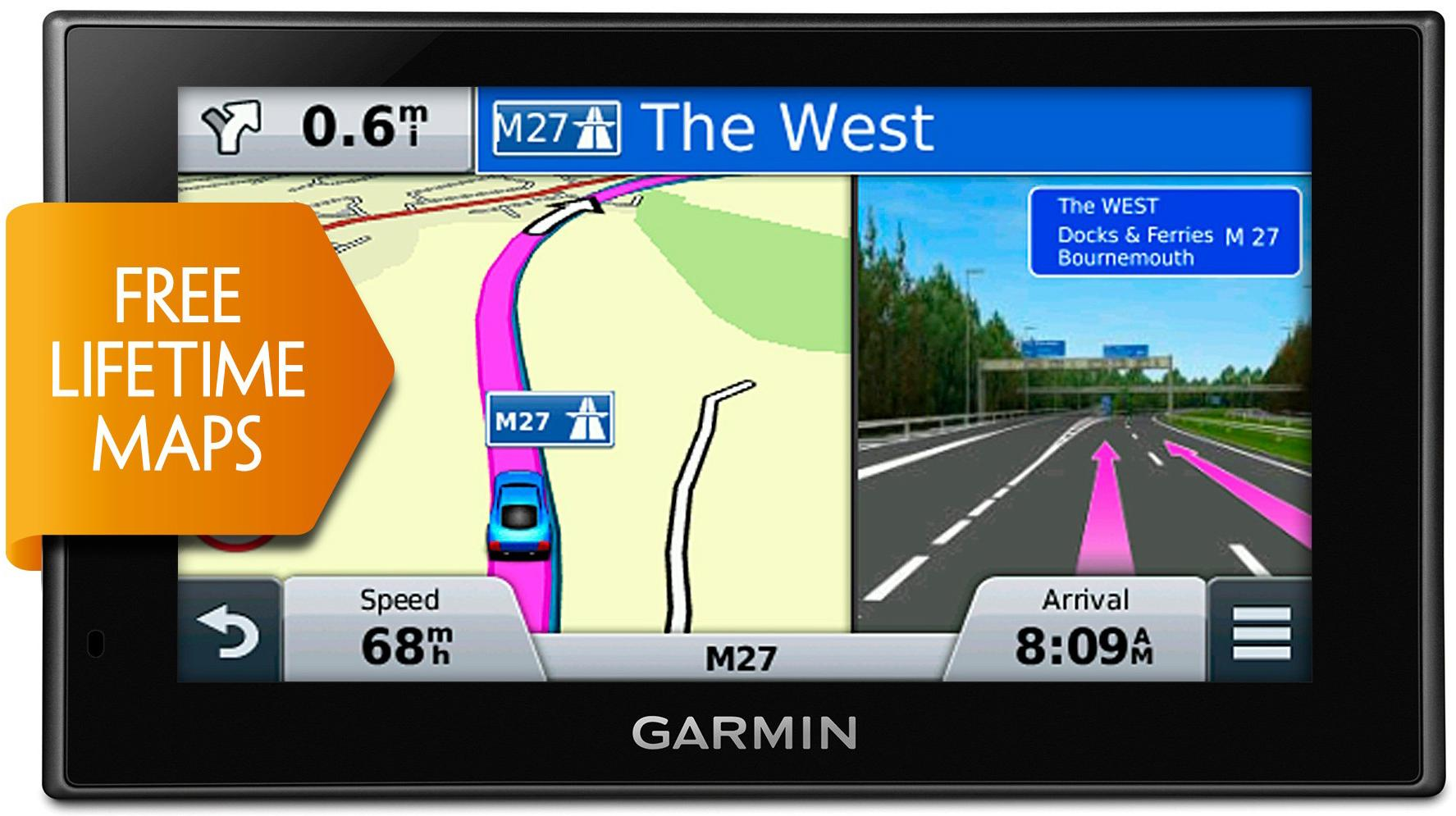 160287 Sat Nav With Uk And Usa Maps on