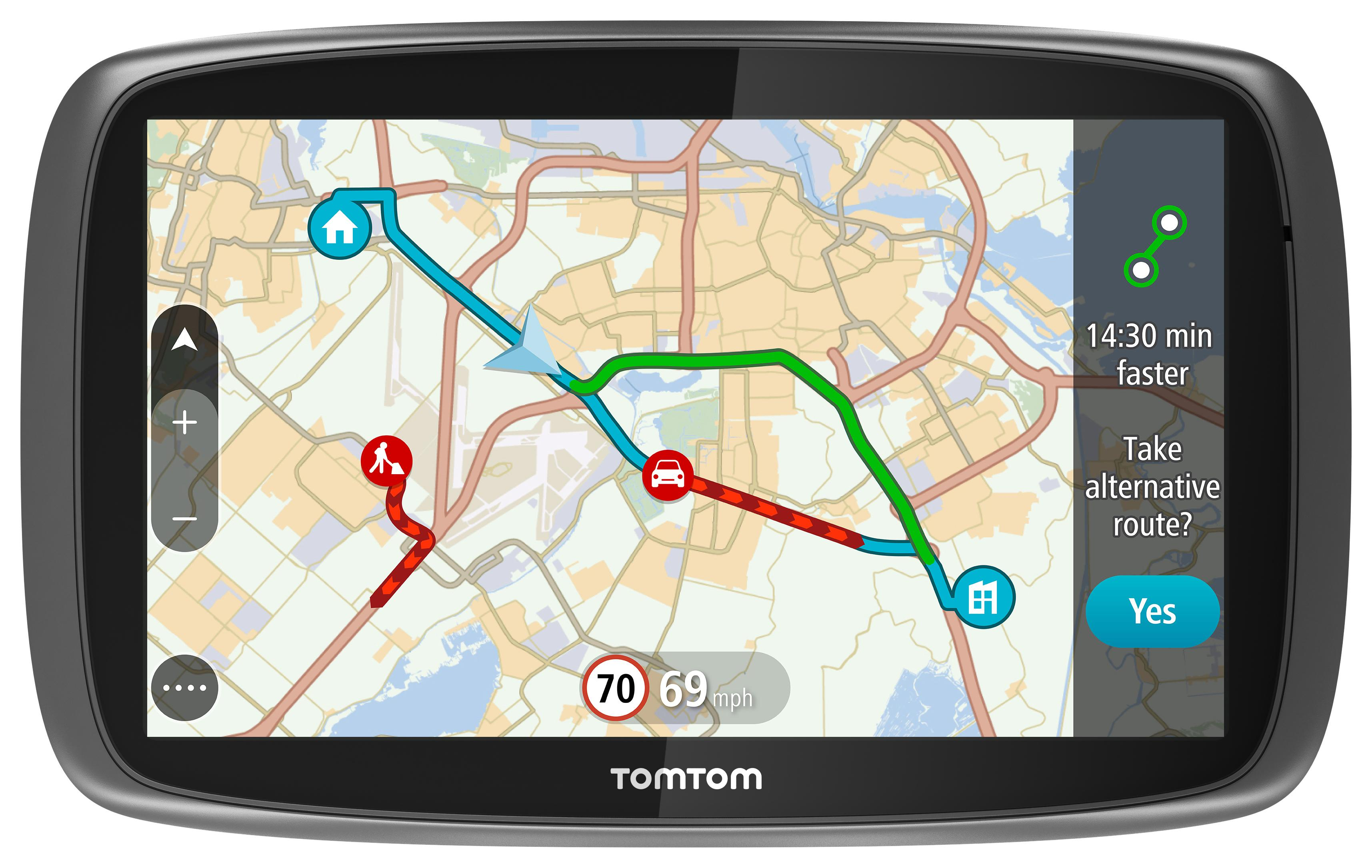 tomtom go 5100 5 car sat nav gps mydrive lifetime traffic world 3d maps updates ebay. Black Bedroom Furniture Sets. Home Design Ideas