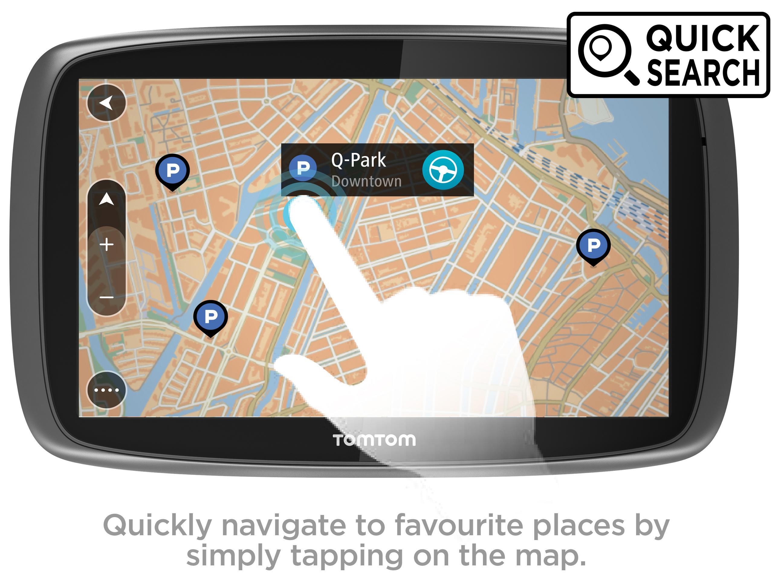 Tomtom Go Sat Nav Gps Navigation Mydrive World Maps Ebay Tomtom One North America Map