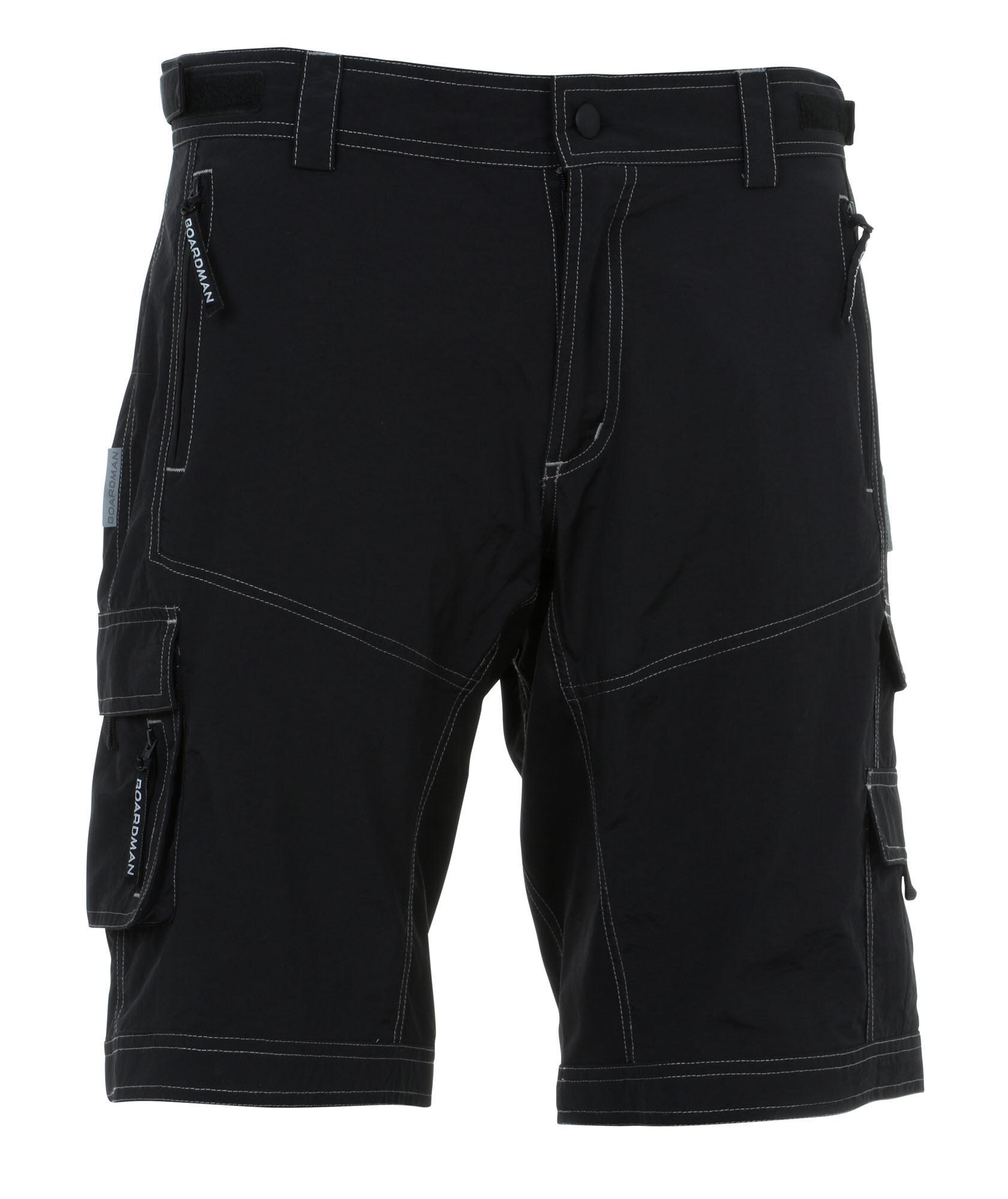 boardman mens mtb shorts - black