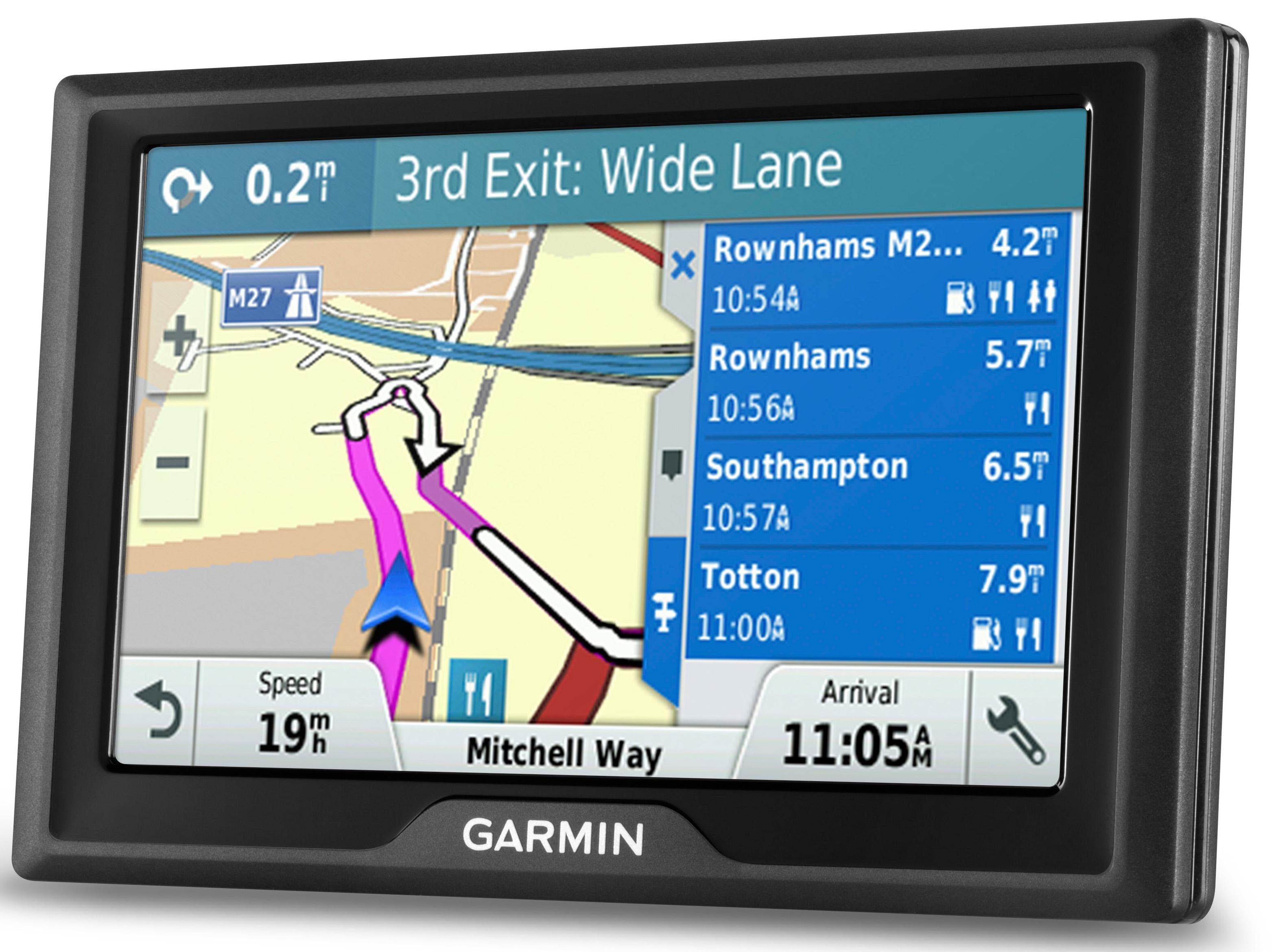 garmin drive 50 lm sat nav gps uk roi ireland lifetime map maps navigation. Black Bedroom Furniture Sets. Home Design Ideas