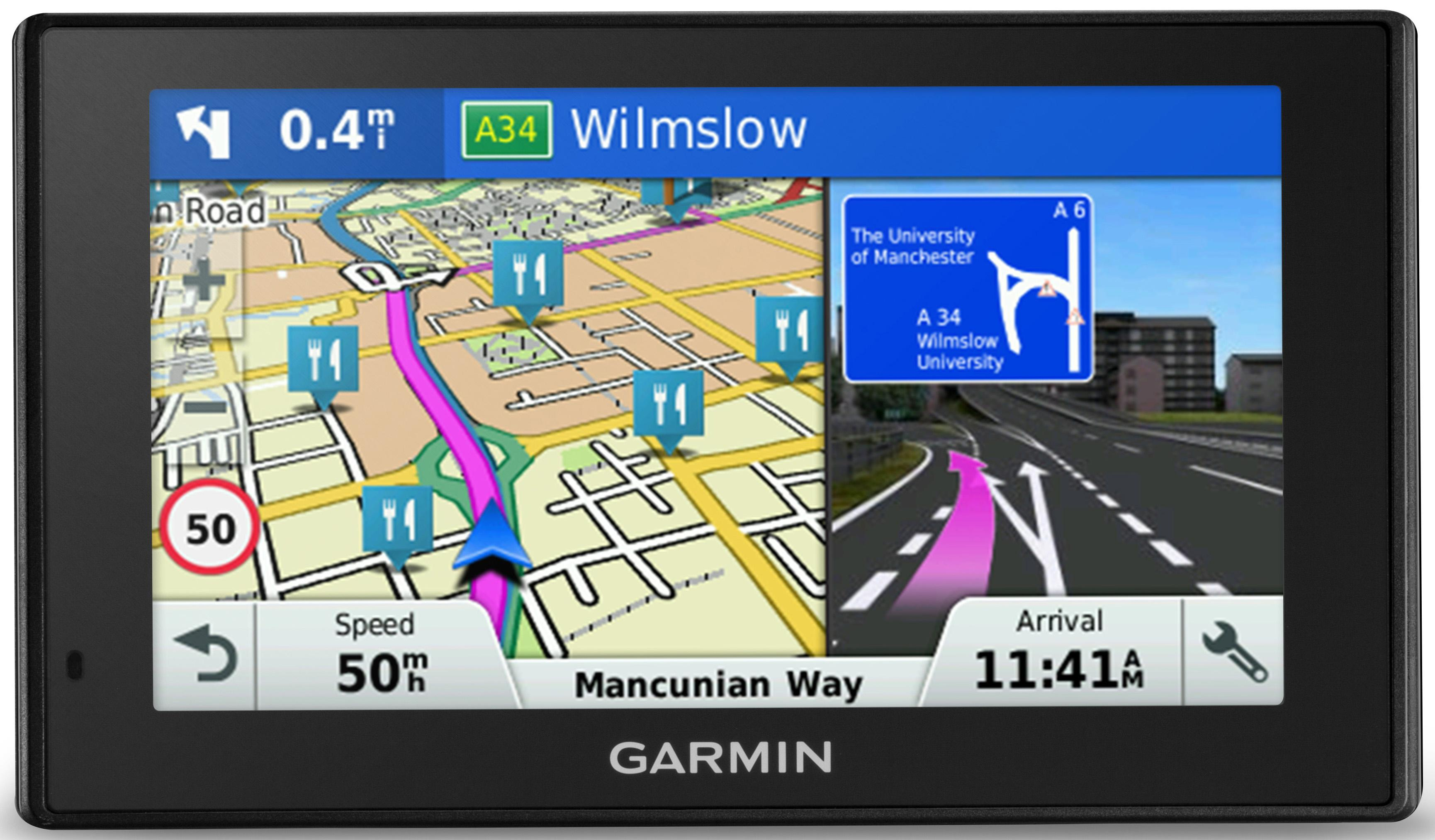224763b Sat Nav With Uk And Usa Maps on