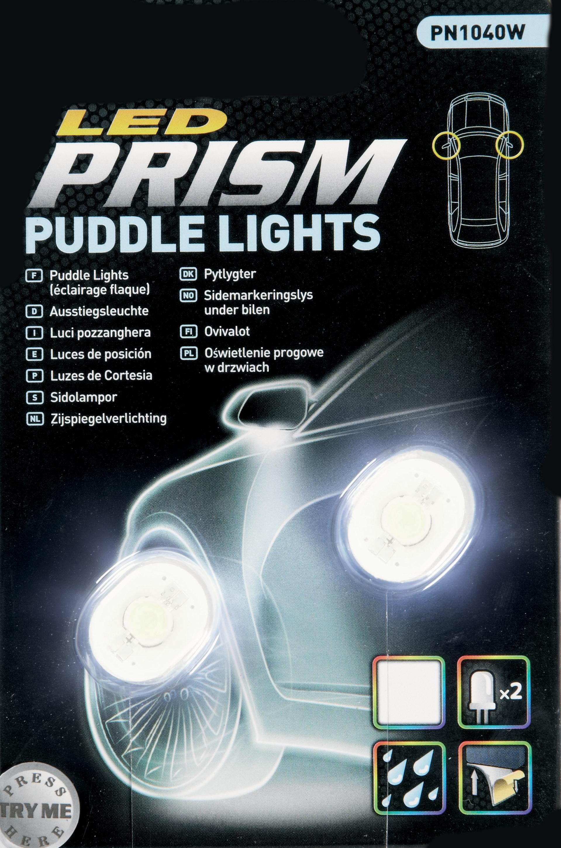 Prism Custom Led Car Door Wing Mirror Puddle Lights Lamps