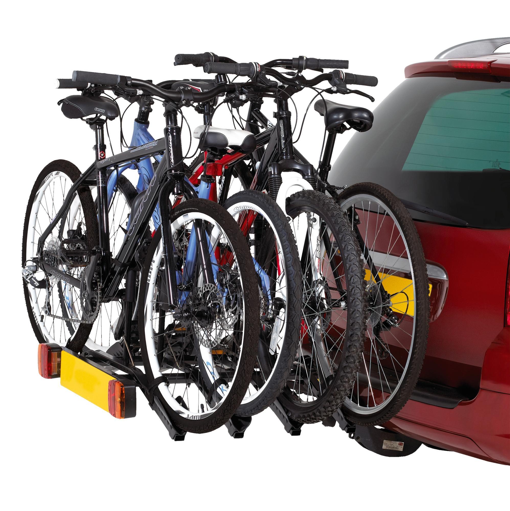 Halfords 4 Bike Tow Bar Cycle Car Rear Rack Bike Bicycle